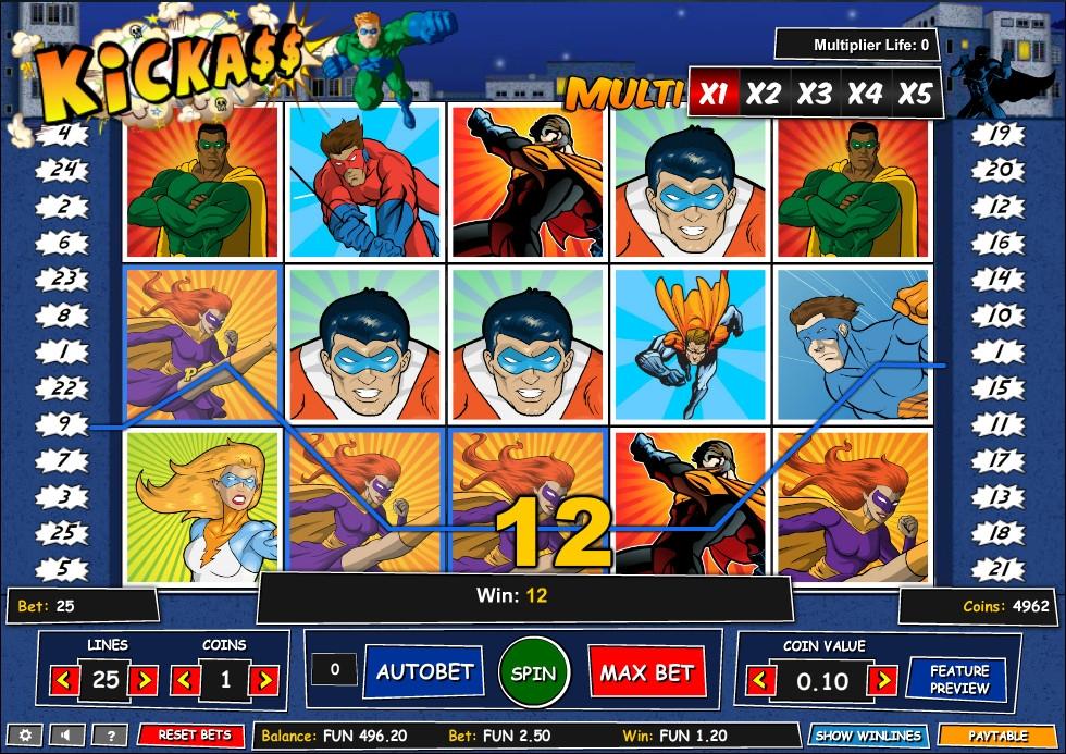 игровой автомат Kick-Ass