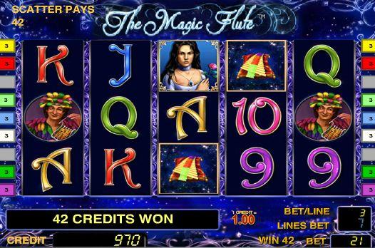 игровой автомат Магическая Флейта