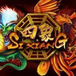 Игра со счастливыми знаками и счастливым концом или игровой автомат Si Xiang