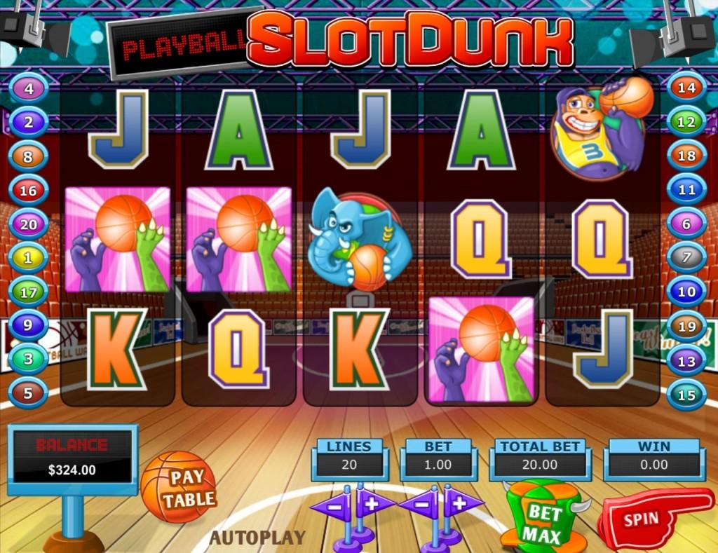 игровой автомат Slot Dunk