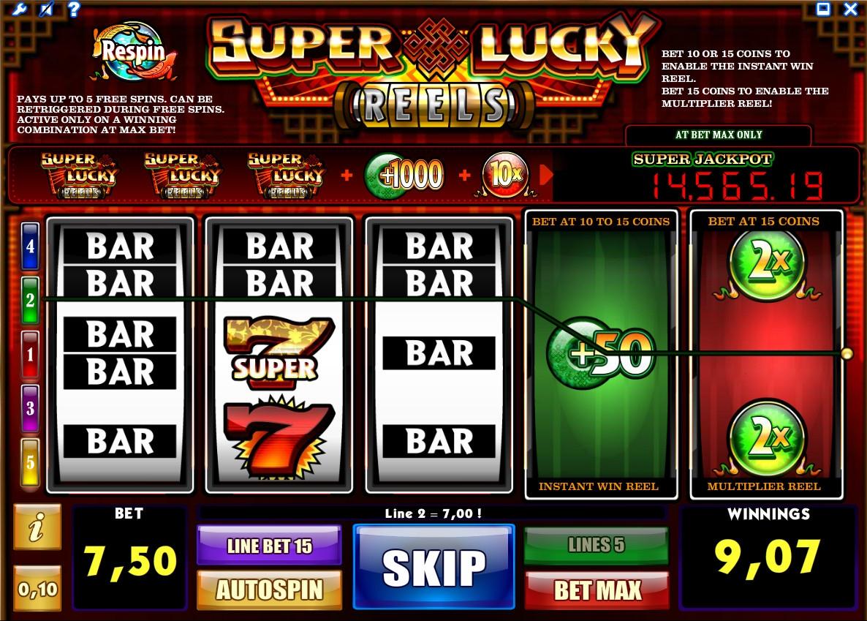игровой автомат Super Lucky Reels