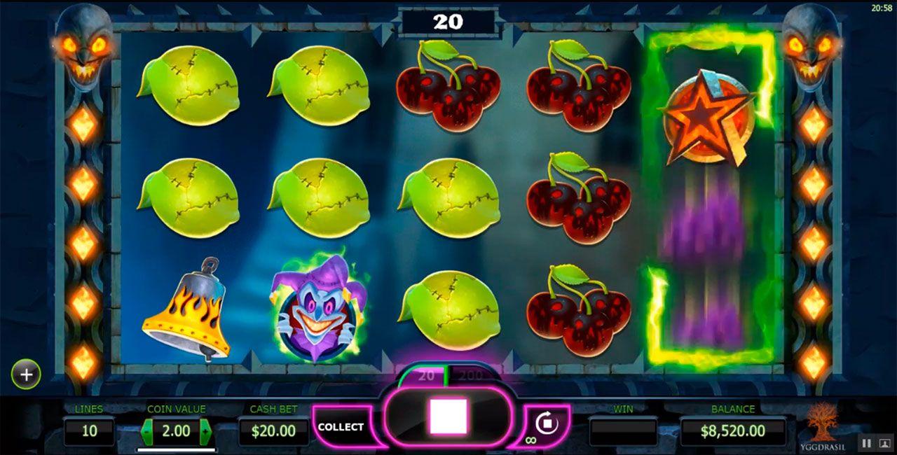 игровой автомат The Dark Joker Rises