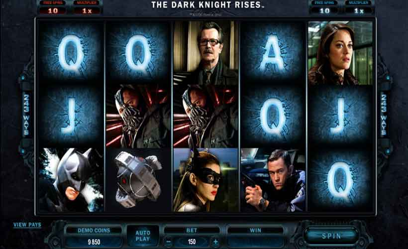 игровой автомат The Dark Knight