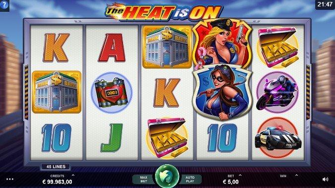 игровой автомат The Heat Is On