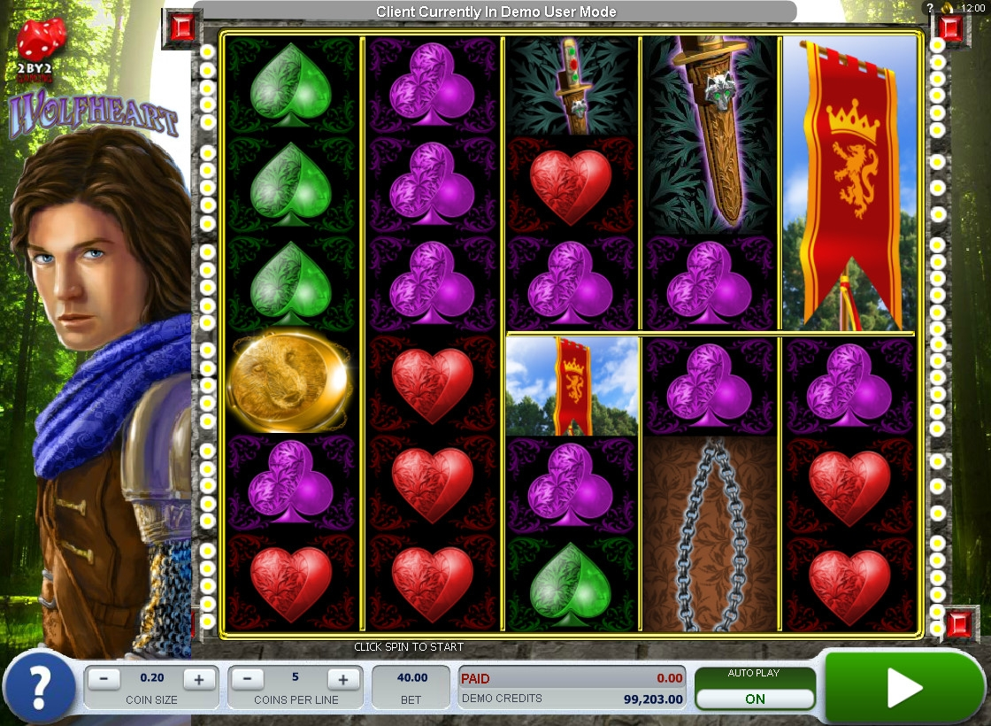 игровой автомат Wolfheart