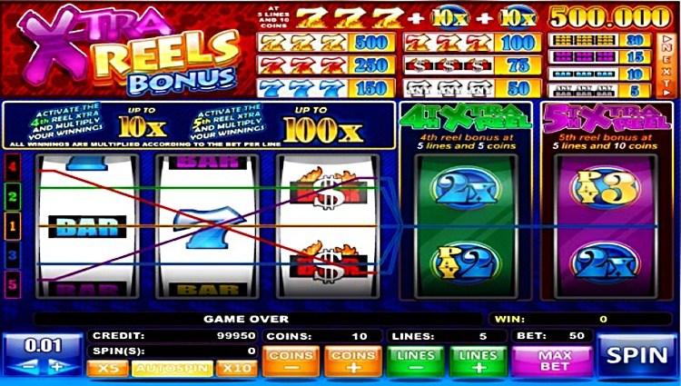 игровой автомат X-ra Bonus Reels