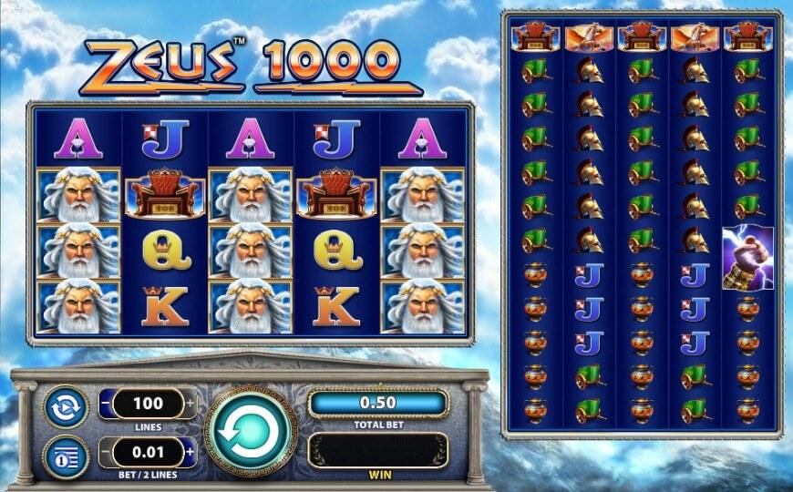 игровой автомат Zeus 1000