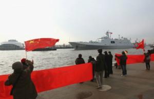 Китай и Россия начали совместные военно-морские учения