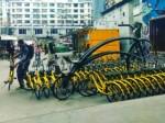 Общественные велосипеды в Китае создают проблемы