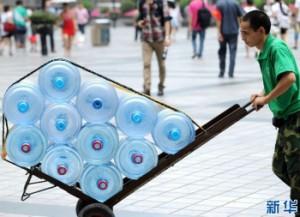 В Чунцине установилась аномальная жара