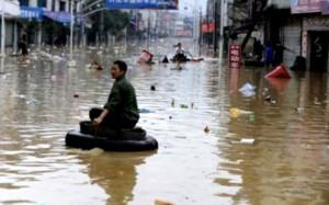 Наводнения в Китае унесли жизни 237 человек