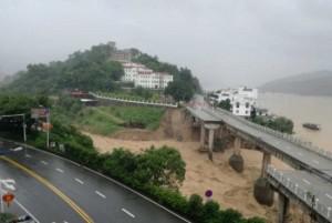 В Восточном Китае бушует тайфун «Непартак»
