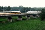 Поезда китайской разработки могут развивать скорость до 420 км/ч