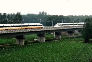 Пассажирские поезда китайской разработки