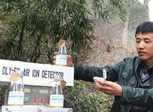 Свежий горный воздух теперь продают в Китае