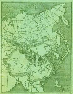 """Столетнюю карту """"Чайного пути"""" продемонстрировали в Харбине"""