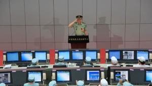 Китай, центр управления полетами