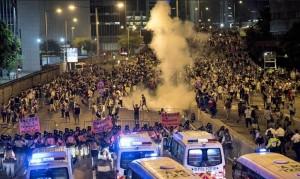 Протесты Гонконг