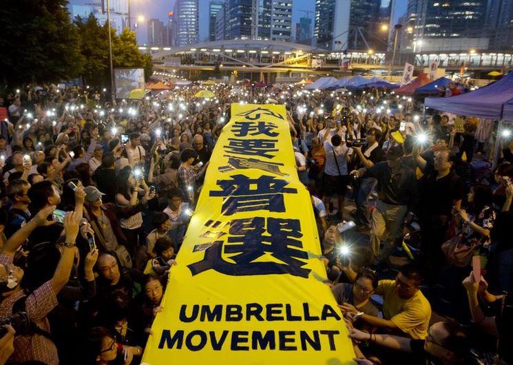 революция зонтов