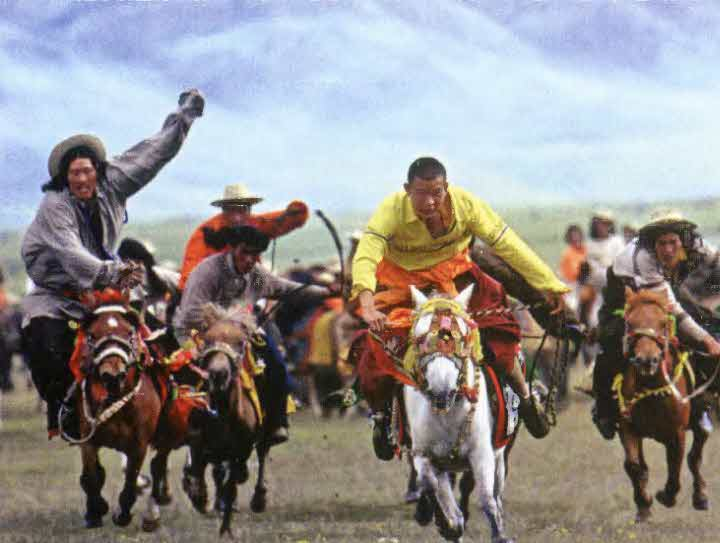 Литангский конный фестиваль