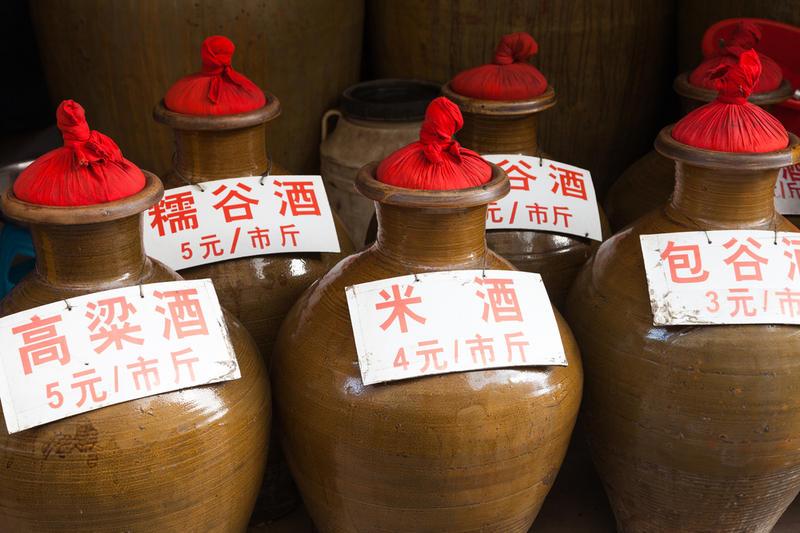 Маотай - знаменитая рисовая водка