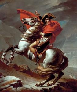Наполеон на перевале Сен Бернар