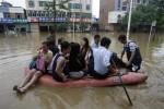 В провинциях Сычуань и Шэньси введен 4-й уровень опасности из-за наводнений