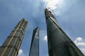 """Закончились монтажные работы на """"Шанхайской башне"""""""