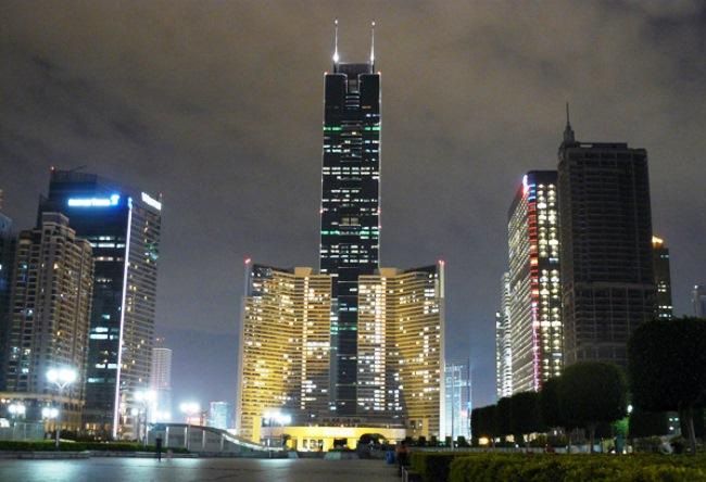 4 самых популярных небоскреба Гуанчжоу