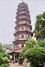 Архитектурная достопримечательность Пекина – Пагода храма Тяньнин