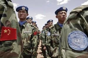 Китайские миротворцы отправились в Судан