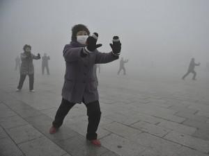 В Пекине из-за смога перекрыли автострады