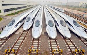 Китайская железная дорога поставила новый национальный рекорд