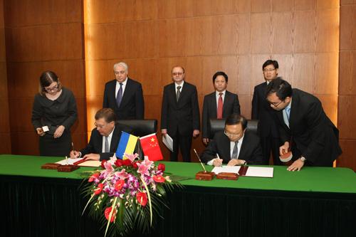 Китай и Украина будут развивать двустороннее сотрудничество
