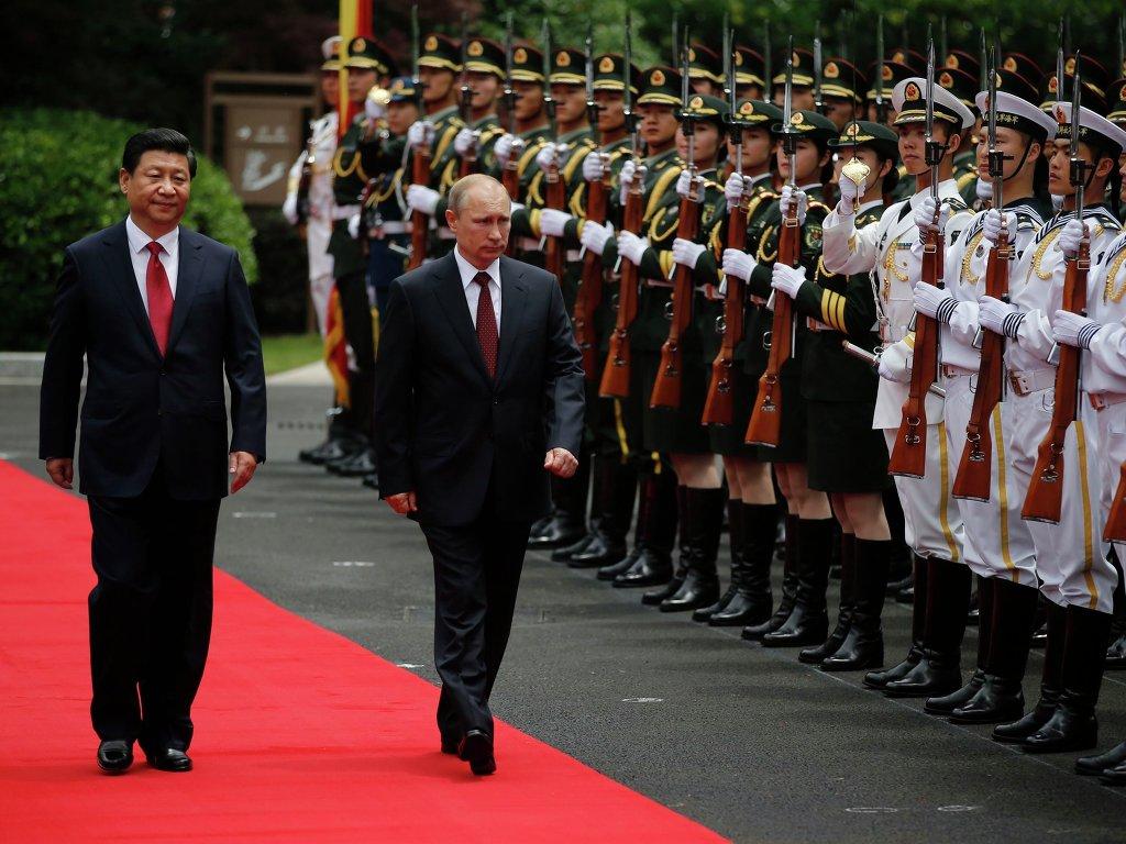 В Шанхае прошла встреча лидеров Китая и России