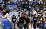 Протесты «Оккупай централ» переместились к дому главы правительства