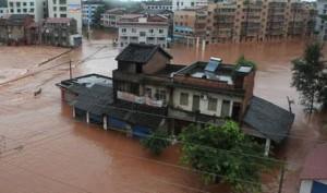 Китай. В 288 миллионов юаней оценивается ущерб, нанесенный дождями в провинции Хубэй