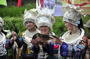 Представители народности Мяо провели Рыбный фестиваль