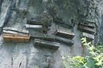 Висячие гробы на древних китайских кладбищах