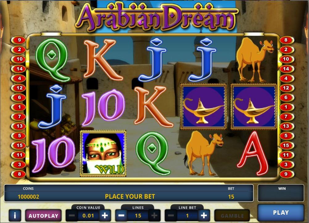 слот Arabian Dream