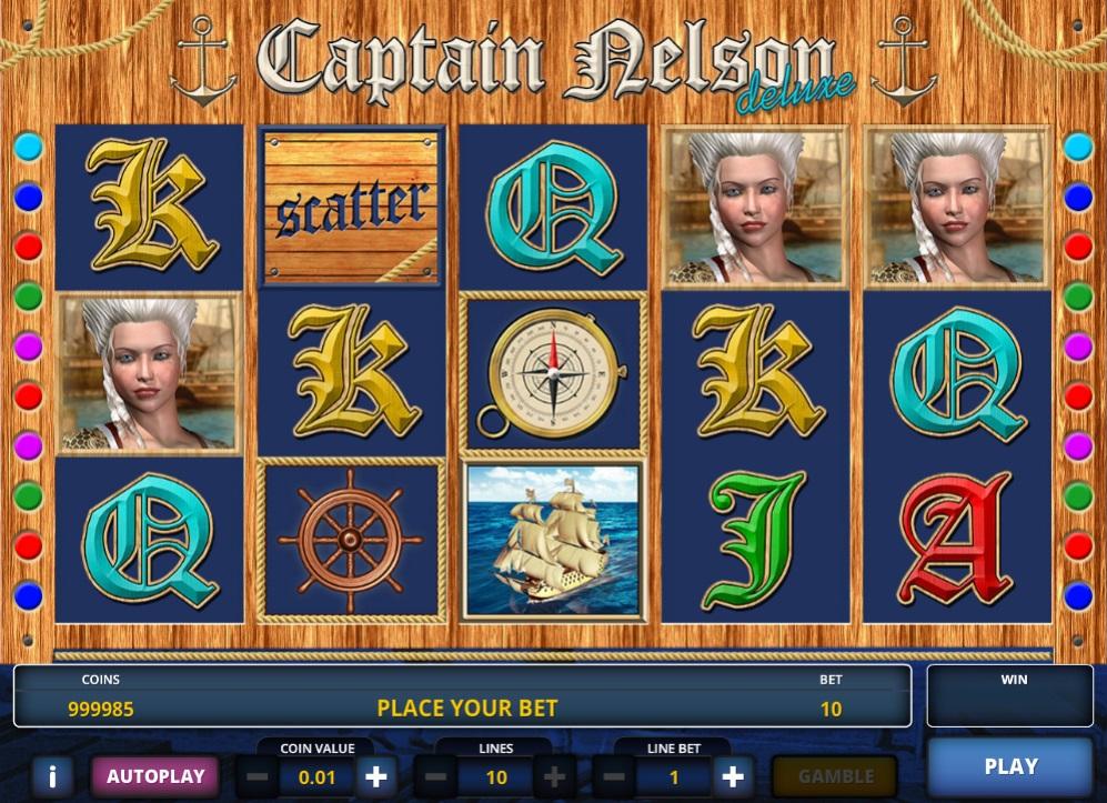 слот Captain Nelson Deluxe