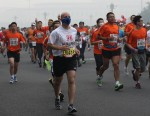 Смог не помешал провести 34-й Международный пекинский марафон