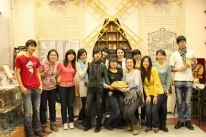 100 китайских подростков отправилось на экскурсию в РФ