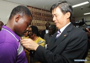 Правительство Китая поддерживает стипендиями студентов из Ганы