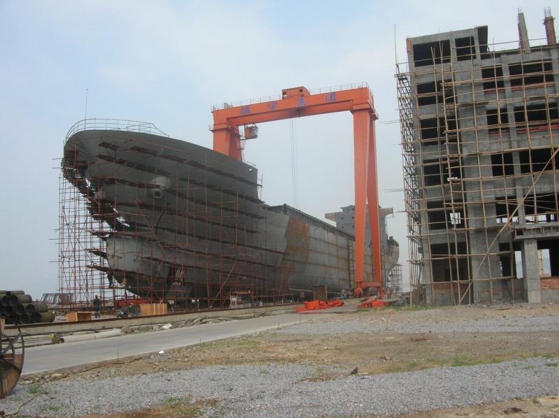 О судостроительной отрасли Китая