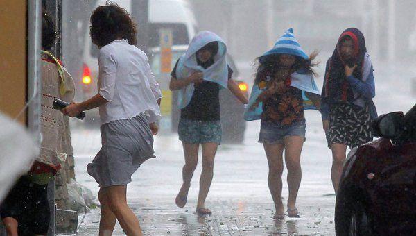 """Тайфун """"Раммасун"""" приближается к побережью Китая"""