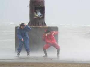 """К Китаю приближается тайфун """"Накри"""