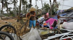1 млн китайцев пострадал от тайфуна «Калмэджи» в провинции Гуандун