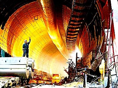 """5 """"самых-самых"""" тоннелей Китая"""