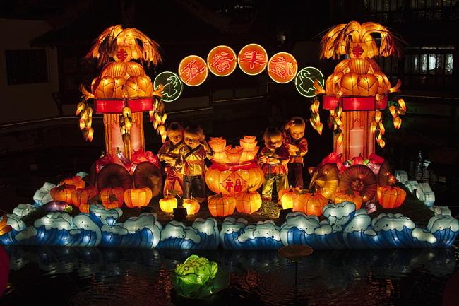 Традиционные китайские фонари